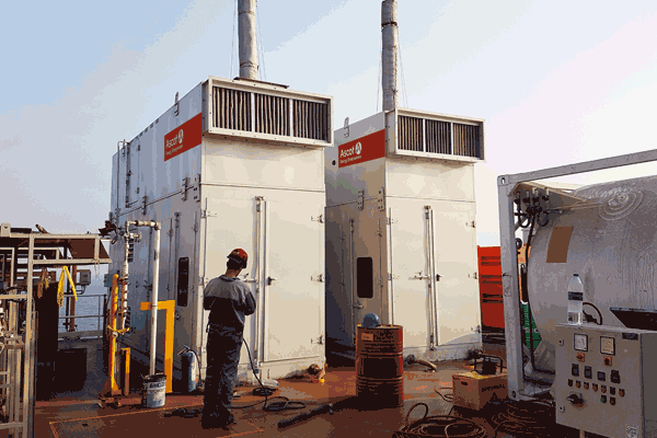 Oil & Gas Diesel and NG Gensets